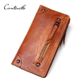 Men Leather Vintage Wallet [9026420227]