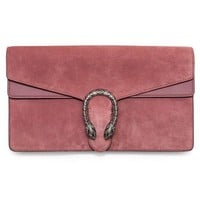 DCCKUG3 Gucci Dionysus Winter 2016 Pink Suede Clutch Bag New