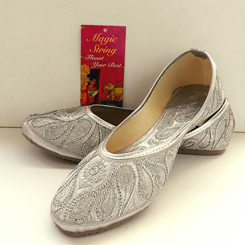 Silver Flats Wedding Flats Women Ballet Flats Women Shoes Silver 491d4185290b
