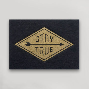 Stay True Postcard