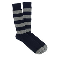 J.Crew Mens Stripe Rugby Socks