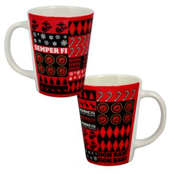 USMC Ugly Sweater Design Coffee Mug | The Marine Shop