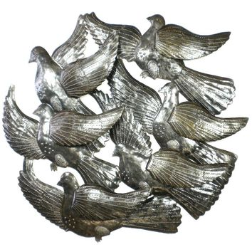 Flock of Bird with 3D Wings Wall Art - Croix des Bouquets