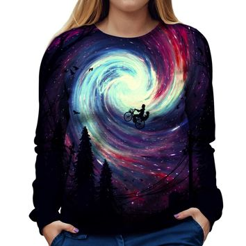 Adventure Time Womens Sweatshirt