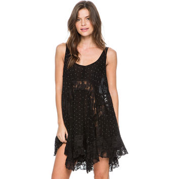 FREE PEOPLE SHE SWINGS SLIP DRESS