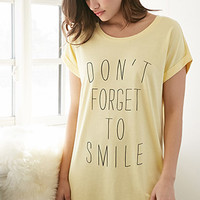 Smile Graphic Nightdress