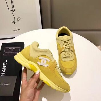 New Fashion Double C Low Top Sneaker Reference #1240 - Beauty Ticks