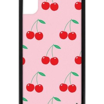 Pink Cherries iPhone Xr Case