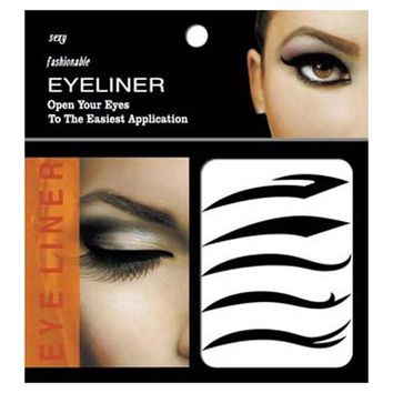 5 Pairs Beauty Makeup Black Eyeliner Tattoo For Women Waterproof Long-lasting Eye Liner Stickers Tattoo Make Up Cosmetics Tool