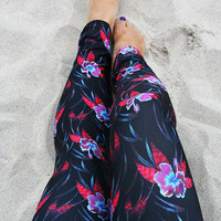 LEGGING - 'LEILANI' Style Legging for SURF,  Yoga, Running, Biking, sup, kitesurf, wakeboard