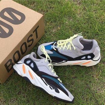 Kanye West X Adidas Yeezy 700 Boost Mgh Sold Grey / Chalk White / Core Black Sport Shoes Running Shoes  Yh - 0033b - Beauty Ticks