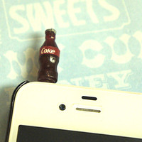 coke bottle earphone plug