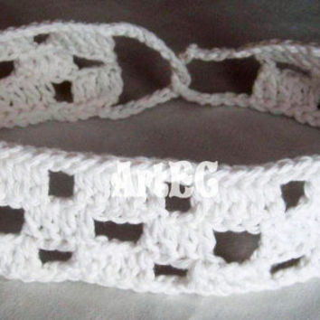 Instant download Pattern for crochet headband, summer, easy, fast, cotton yarn, diy, handmade, pastel
