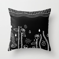 DEAD NATURE Throw Pillow by Maioriz Home