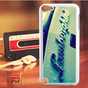 Lamborghini Logo with Water iPod Touch 4 iPod Touch 5 iPod Touch 6 Case
