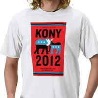 Kony 2012 BLACKPOOL T-shirt from Zazzle.com
