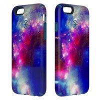 Speck CandyShell Inked iPhone 6 Case - SuperNova Red Pattern / Tahoe Blue