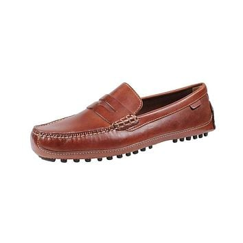 Men's Grant Canoe Penny Loafer in Papaya by Cole Haan