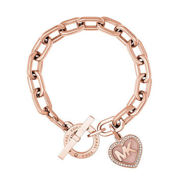 Michael Kors Valentine´s Day Heart Toggle Bracelet | Dillards