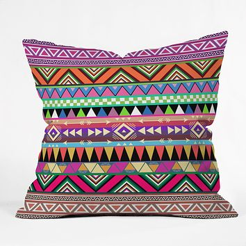Bianca Green Overdose Throw Pillow