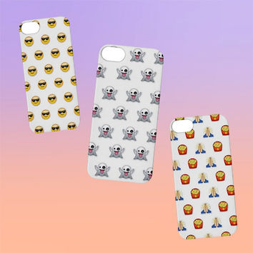 Emoji iPhone Case iPhone 4, 5, 6 | Choose Your OWN EMOJI! Tumblr Cute Kawaii Cool
