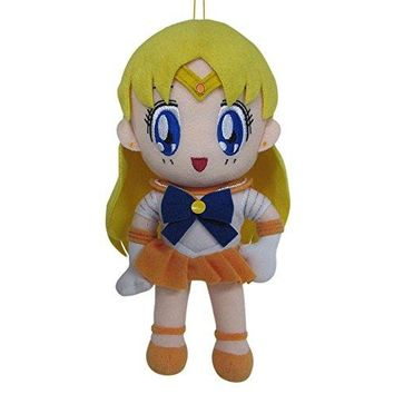 "Great Eastern GE-7509 Sailor Moon 8"" Plush Doll, Sailor Venus"