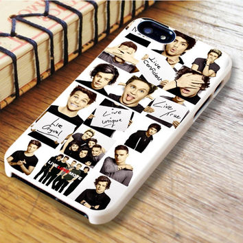 Funny 1d One Direction Collage iPhone 6 Case
