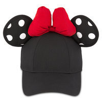 Minnie Mouse Polka Dot Ears Baseball Cap for Adults