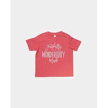 Toddler - Fearfully & Wonderfully Made