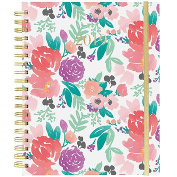 Floral Feels Large Wiro Agenda 2019 Planner