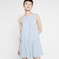 STRIPED DRESS - DRESSES-TRF | ZARA United States