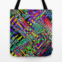 Hello Colour Tote Bag by Glanoramay