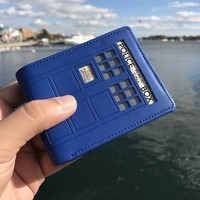 Tardis Doctor Who Wallet