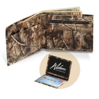 Camo Leather Realtree AP Wallet