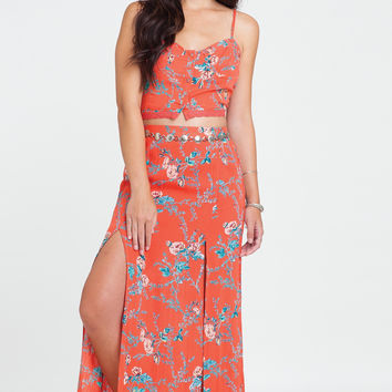 Billabong - Dream Escape Skirt | Hot Coral