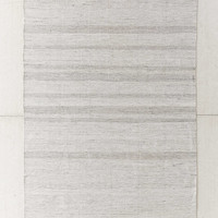 Heathered Banana Silk Rug | Urban Outfitters