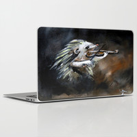 Hedgehog Violinist  Laptop & iPad Skin by Grace Ridder