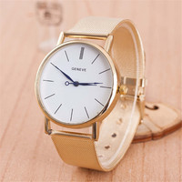 WOMEN FASHION SILVER CASUAL SPORTS WATCH + GIFT BOX