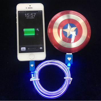 Avengers Captain America Shield Power Bank Charger