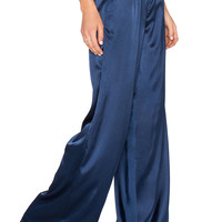 House of Harlow x REVOLVE Charlie Wide Leg Pant in Navy