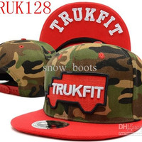 camo trukfit snapback hat custom skate MISFIT hats snapbacks snap back cap mixed men women caps color 110