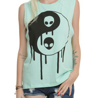 Yin-Yang Alien Girls Muscle Top
