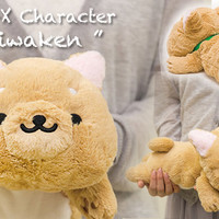 Strapya World : San-X Iiwaken Super Soft Floppy Shiba Inu Dog Plush