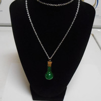 Final Fantasy Mana Potion Necklace final fantasy 7 final fantasy 8 cosplay costume
