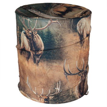 Elk Meadow Laundry Hamper