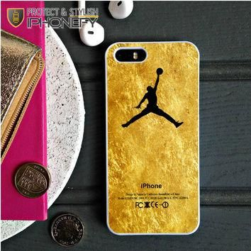 Michael Jordan Golden Gold Pattern iPhone 5C Case|iPhonefy