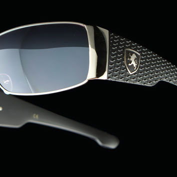 "Mens Wraparound Tire Tread Driving Sunglasses ""Berlinetta"""