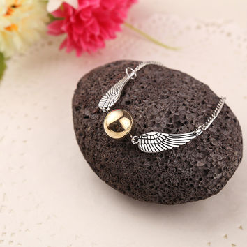 Harry Potter The Golden Snitch Bracelet
