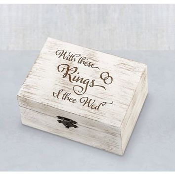 Wedding Vow Box 6 1/2in x 4 3/4in | Party City