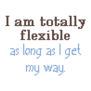 Funny contemporary cross stitch quote. Modern cross stitch sampler.